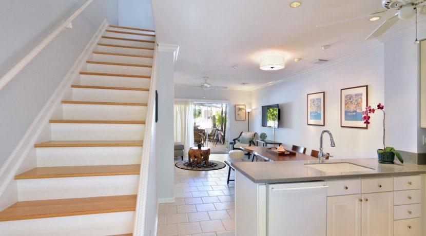 518 Porter Lane, Key West, Cheerful Truman Annex townhouse