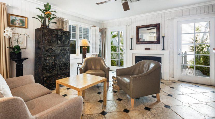 225 Southard Street, President's Walk townhouse, Key West