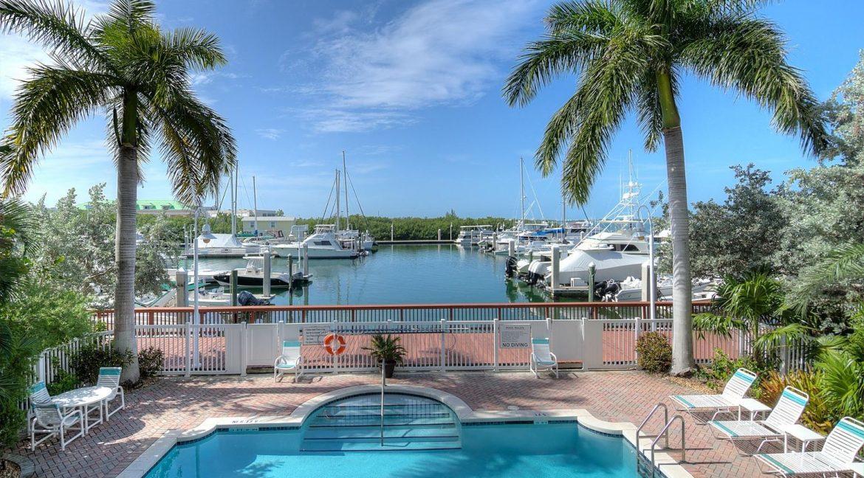 Wonderful waterfront luxury condo at Sunset Marina Residences.